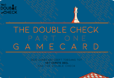 """Spelerspas eerst deel """"the double check"""""""
